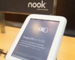 图为邦诺书店(Barnes & Noble)推出的Nook电子阅读器。(Scott Olson/Getty Images)
