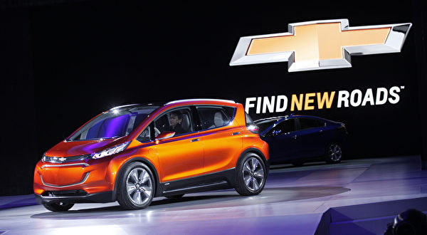 通用汽车(General Motors, GM)的 Chevrolet车款。(Bill Pugliano/Getty Images)