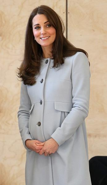 2015年1月19日,英國倫敦,凱特王妃出席肯辛頓休閒中心(the Kensington Leisure Centre)的開幕式。(Chris Jackson/Getty Images)