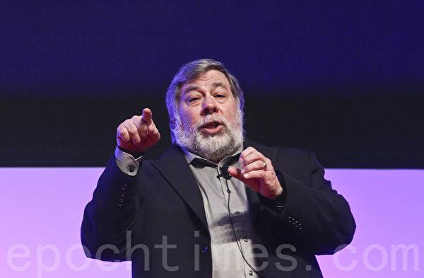 苹果公司共同创办人史蒂芬.沃兹尼克 (Steve Wozniak)。(余钢/大纪元)