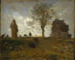 [法]让―弗朗索瓦‧米勒(Jean-François Millet,1814—1875),《秋景与火鸡》(Autumn Landscape with a Flock of Turkeys),纽约大都会艺术博物馆藏。(艺术复兴中心提供)