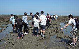 青年参观观新藻礁生态(徐乃义/大纪元)