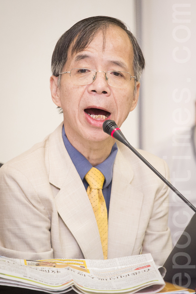 香港牧师邬小鹤。(陈柏州/大纪元)
