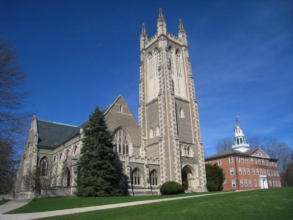 在全美文理学院排名中,马萨诸塞州的威廉姆斯学院(Williams College)位列第一。(Wiki commons)