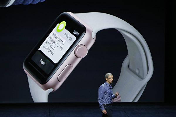 2015年9月9日,美国秋季新产品发布会在旧金山比尔‧格雷厄姆公民礼堂举行(Bill Graham Civic Auditorium)。(Stephen Lam/ Getty Images)