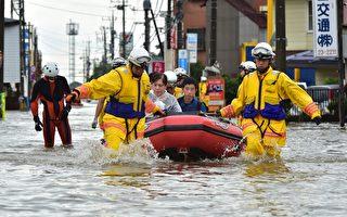 日本多地陷入一片汪洋 東京等地百萬人疏散