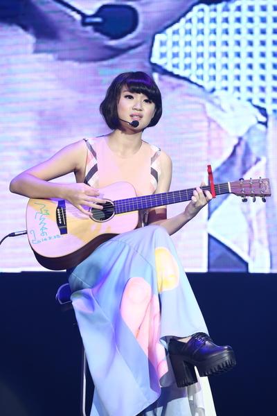 新生代歌手郑心慈。(台北流行广播电台提供)