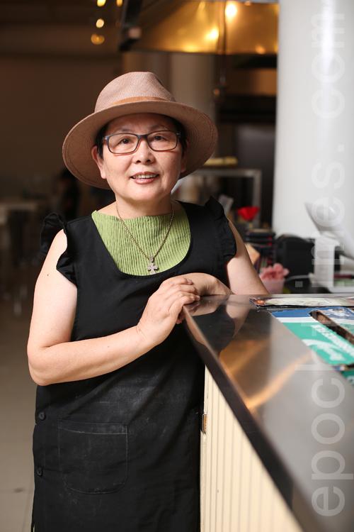 健康膳食專家樸麟順女士。(張學慧/大紀元)