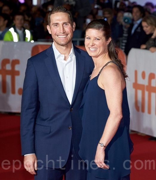 宇航員特雷西•戴森(Tracy Dyson)和丈夫喬治•戴森(George Dyson)。(Don Quincy/大紀元)