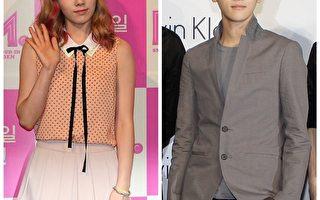 少女时代成员太妍(左)与EXO成员伯贤。(全宇、Getty Images/大纪元合成)