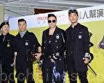 (左起)黃家強、梁漢文、蘇永康、任賢齊四人出席男人幫演唱會前記者會。(宋祥龍/大紀元)