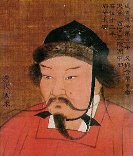 窩闊台是成吉思汗的第三子。(維基百科公有領域)