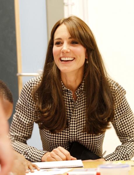 2015年9月17日,凱特王妃訪問英國兒童心理健康治療慈善機構。(Anna Freud Centre)。(Mark Richards/WPA Pool/Getty Images)