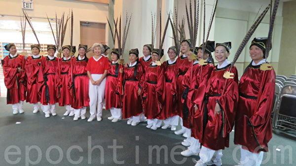 """9月27日下午1点,南加祭孔委员会将于洛侨中心举办一年一度""""祭孔大典""""。(袁玫/大纪元)"""