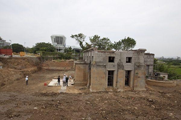 新竹水道-取水口未來將作為水資源博物館。(新竹市政府提供)