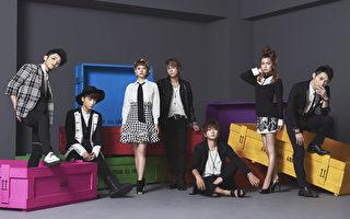 日本人氣男女組合AAA宣傳照。(avex提供)
