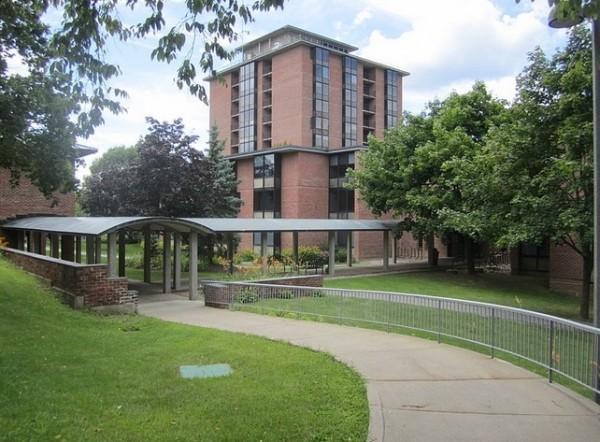 基德莫尔学院(Skidmore College)。(Wiki commons)