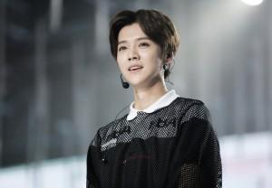大陆歌手鹿晗9月25日在北京举办专辑首唱会。(鹿晗工作室提供)