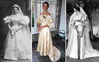 代代相传 120岁婚纱被家族11位新娘身披