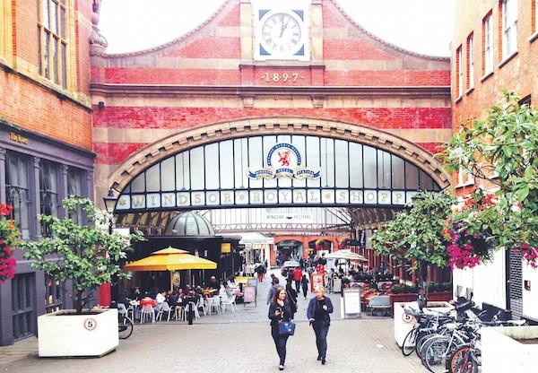 溫莎市中心的皇家購物中心(Depositphoto)。