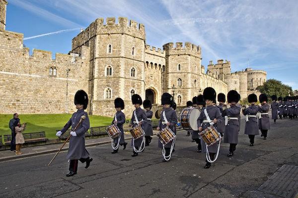 溫莎城堡的衛兵(Depositphoto)。