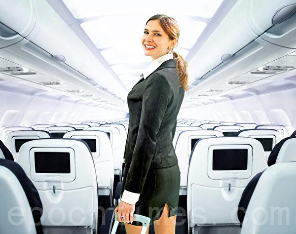 空服员预计至2022年下滑比例为7%。(Fotolia)