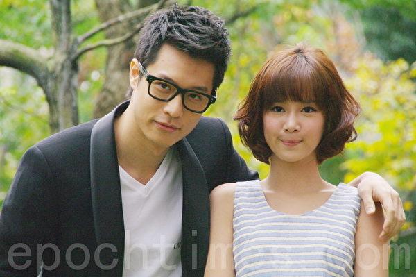 周伯豪和李佳颖于2011年曾和合作主演偶像剧《粉爱粉爱你》。(黄宗茂/大纪元)