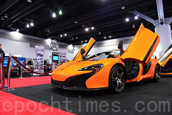 McLaren 650S。(景浩/大紀元)