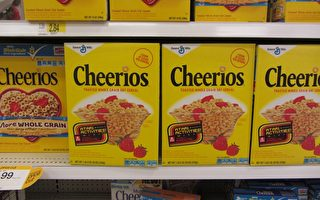 美公司召回180万盒Cheerios麦片