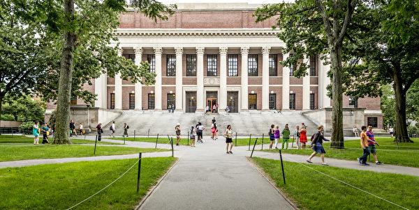 哈佛大學錄取率5.8%,是全美第1最難被錄取的大學。圖為哈佛大學校園。(fotolia)