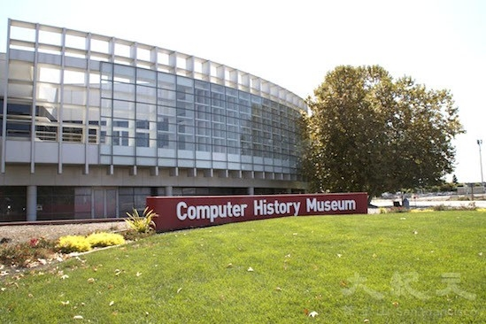 计算机历史博物馆。(王文艺/大纪元)