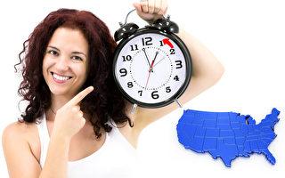 周日北美夏令时结束 时钟回拨 多出1小时