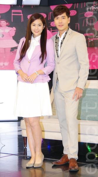 任容萱与王传一在《听见幸福》共谱浪漫恋曲,受到许多网友喜爱。(黄宗茂/大纪元)