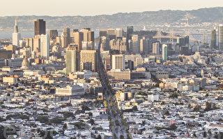 旧金山市。(李欧/大纪元)