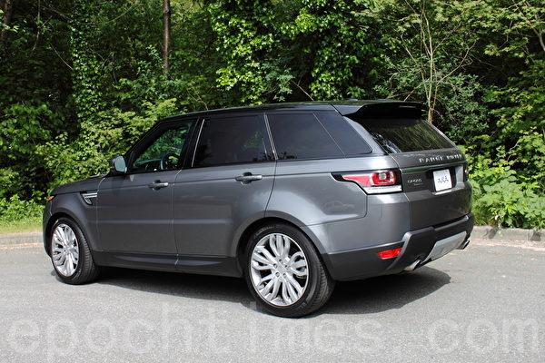2015 Range Rover Sport。(李奧/大紀元)
