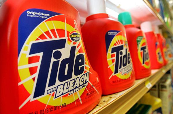宝洁是一家拥有177年历史的民生消费品公司,汰渍(Tide)是它的知名品牌。(Justin Sullivan/Getty Images)