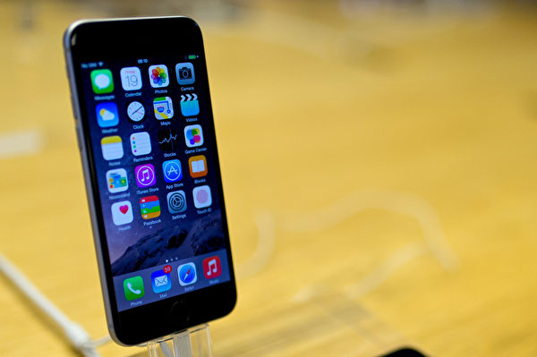 iPhone 6。(Ben A. Pruchnie/Getty Images)