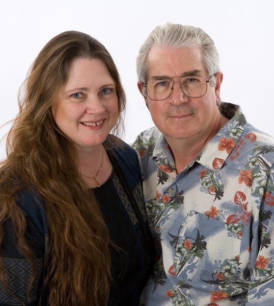 David Cline & Diana Plank。(David Cline提供)