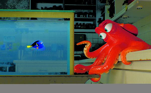《尋找多莉》(Finding Dory)(Pixar動畫工作室提供)