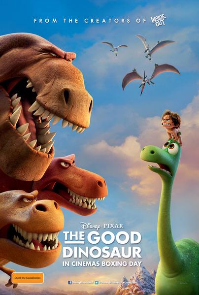 《恐龍當家》(The Good Dinosaur)(Pixar動畫工作室提供)