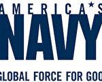 美国海军标识:环球正义之师。(图片作者提供)