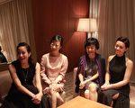 金馬準影后合影:左起林嘉欣、趙濤、張艾嘉、宋芸樺。(國家電影中心提供)