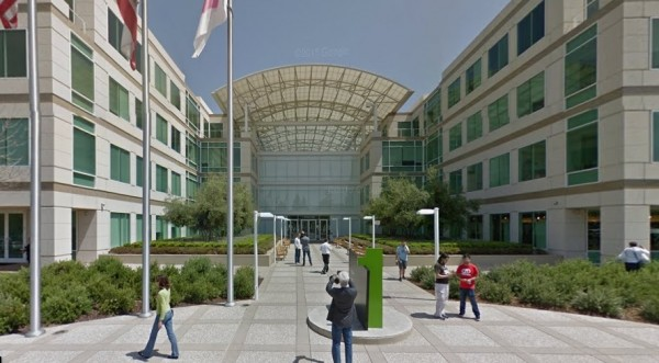 苹果校园零售店(Apple Campus Store)。(Google Map截图)
