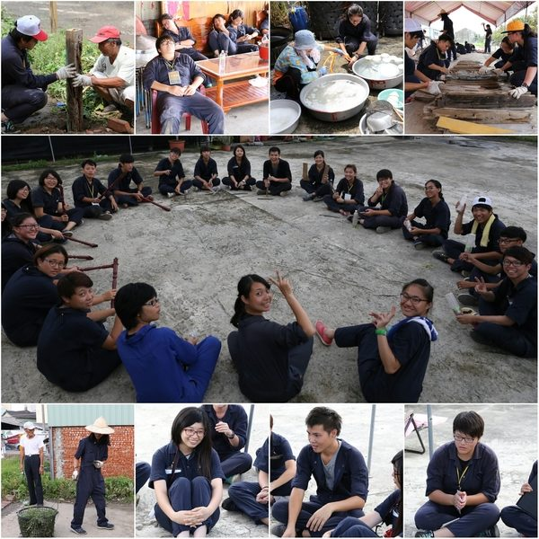 """青年培力,来自各地充满热情的年轻朋友,透过集体工作培养劳动情感和伦理,和居民一齐面对问题,一起劳动,未来将有一群知道""""如何从行动获得知识""""的田野青年。(台湾田野工场提供)"""