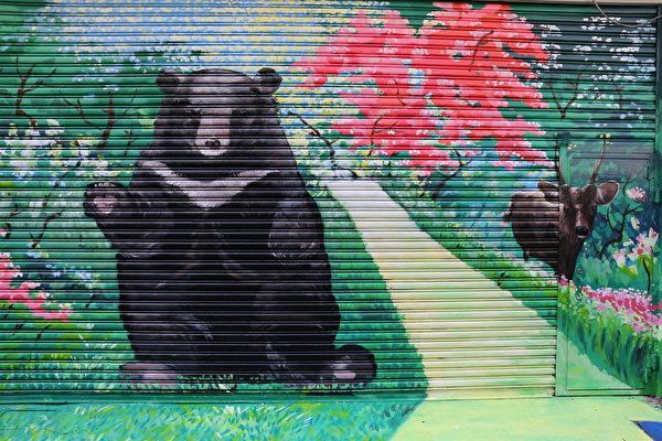 番社社区-台湾黑熊都愿意走到都市跟人们GIVE ME Five做好朋友了,那我们可以为台湾珍贵的动物做些什么。(台湾田野工场提供)