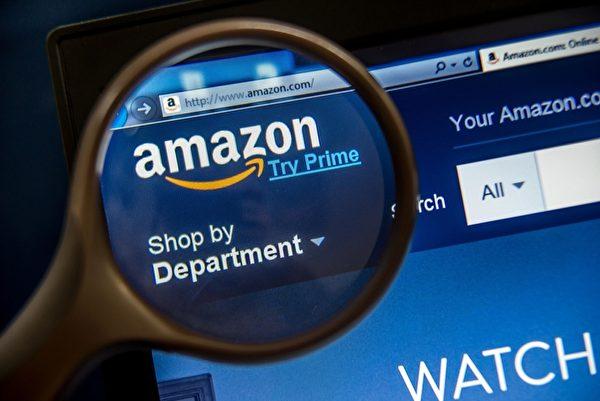 亚马逊是全美最大的线上零售商与电子商务巨擘。 (PHILIPPE HUGUEN/AFP/Getty Images)
