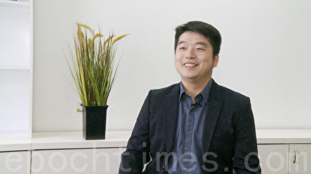 独立音乐人陈东。(杨阳/大纪元)