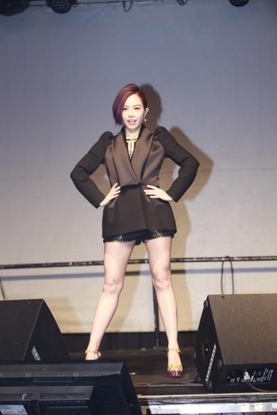 徐怀钰为演唱会密集练舞。(新视纪提供)