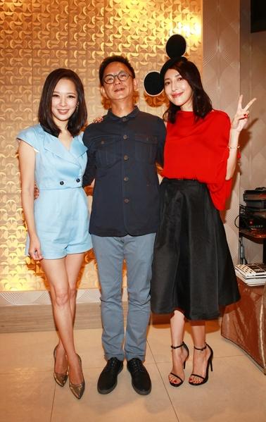 (左起)天心、導演曹瑞原、楊謹華。(公視提供)