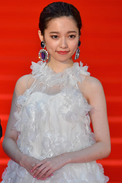 AKB48的成員之一島崎遙香。(Ken Ishii/Getty Images)
